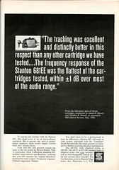 Stanton 681 phono cartridge 1968 (Nesster) Tags: vintage stereo hifi magazine print ad advert advertisement september 1968 hifistereoreview