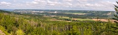Peace River Valley, Taylor Flats Panorama (MIKOFOX ⌘) Tags: canada summer xt2 learnfromexif july landscape provia fujifilmxt2 valley mikofox panorama showyourexif xf18135mmf3556rlmoiswr