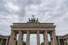 Brandenburg Gate in Berlin (DebbieFirkins) Tags: berlin wall gate ww2 war world soldier fighting separation control german captive stone stonework
