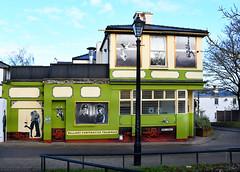 NEW BRIGHTON MURALS SERIES # 17 : WALLASEY TRAM MURAL. (tommypatto : ~ IMAGINE.) Tags: streetart merseyside newbrighton