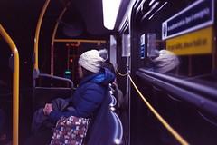 cat motif bag (Yutaka Seki) Tags: bus transit transportation cat bag gafmemo35ee homedeveloped film kodakgcultramax400 unicolorpresskit pakonf135