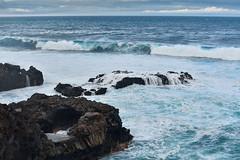 Atlantic Ocean (PLawston) Tags: la palma canary islands spain fajana waves sea rocks