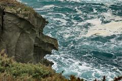 El grito (Micheo) Tags: spain sendacosteranaviega asturias cantábrico sea water olas waves sendero ngc grito scream perfil profile
