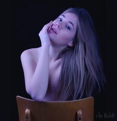 Nastya and my old School Chair 22 (RickB500) Tags: rickb rickb500 nastya paloma dasha cute blonde portrait girl mädchen erotik erotic erotics erotikart german sexy chair schoolchair