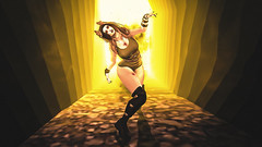.but the light burns (Black Tuesday) Tags: sl secondlife