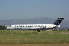 DC09 EC-KJE Spanair Star Alliance 2 (Avia-Photo) Tags: airline aeroplane airport airliner aircraft aviacion airplane avion airlines airliners aviation flugzeug jet luftfahrt lepa plane planespotting pentax pmi spotter mcdonnelldouglas
