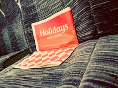 'Holidays Are Coming' (SONICA Photography) Tags: holidaysarecoming cocacola paper train
