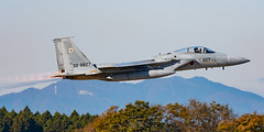 JASDF F-15J 32-8827 303rd Tactical Fighter Squadron Komatsu Fighting Dragons (Vortex Photography - Duncan Monk) Tags: jasdf japan japanese air self defence force f15 f15j 328827 eagle 303 303rd tfs tactical fighter squadron komatsu hyakuri base demonstration role demo iberaki airport military aircraft nikon photography festival airshow
