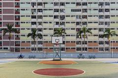 Half Court Press (Andrew G Robertson) Tags: choi hung estate hong kong kowloon architecture basketball kwun tong