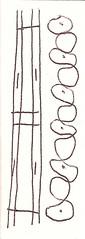 2019.02.06 Straight and Curly (Julia L. Kay) Tags: pen paper bw blackandwhite black white ink juliakay julialkay julia kay artist artista artiste künstler art kunst peinture dessin arte woman female sanfrancisco san francisco sketch dibujo daily everyday 365 doodle