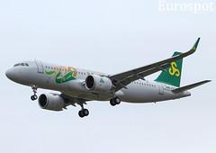 F-WWID Airbus A320 Néo Spring. Spécial 100th sticker (@Eurospot) Tags: fwwid airbus a320 a320neo spring toulouse blagnac 9425 b30d6