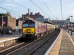 Grantham Station 6446 (stagedoor) Tags: grantham lincolnshire railwaystation train platform lner westcoastrailway northernbelle heritage southkesteven eastmidlands midlands england uk omdem1mkii olympus copyright