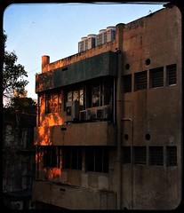 Evening light and shadows. (vharishankar) Tags: building old light shadows evening dilapidated