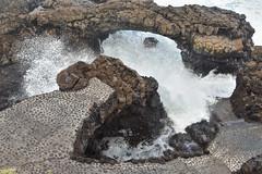 Rock Arch (PLawston) Tags: la palma canary islands spain fajana rock arch waves spray
