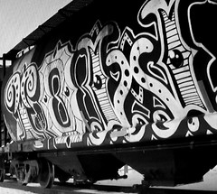 (timetomakethepasta) Tags: tower wholecar freight train graffiti art cp canadian pacific hopper
