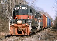 45_11_25_2002 (5)_crop_crop (railfanbear1) Tags: railroad train locomotive mec guilford gp9