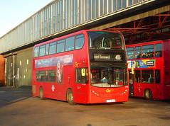 GAL EN38 - SN11BOV - BX BEXLEYHEATH BUS GARAGE - MON 9TH DEC 2019 (Bexleybus) Tags: goahead go ahead london bexleyheath kent da7 bus garage depot tfl route 486 en38 sn11bov firstbus tower transit adl dennis enviro 400