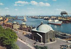 Postkarte / Deutschland (micky the pixel) Tags: postkarte postcard ephemera deutschland germany hamburg hansestadt freieundhansestadthamburg hafen