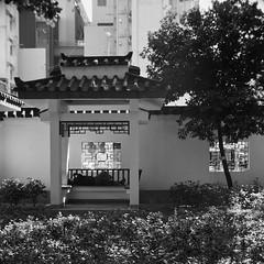 park slumber (a.pierre4840) Tags: olympus omd em10 micro43 cmount schneider kreuznach xenoplan 17mm f17 bw blackandwhite noiretblanc squareformat 11 park kowloon hongkong architecture