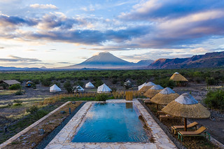 From the sky   Africa Safari Lake Natron