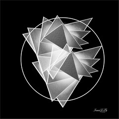 Geometry and Art Triangles 01 (astrochemist2003) Tags: paper photography geomatry art photoshop composite