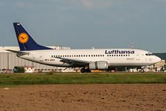 D-ABEN (PlanePixNase) Tags: eddl dus dusseldorf düsseldorf airport aircraft planespotting lohhausen lufthansa boeing 737 737300 b733 733