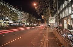 - Berliner Allee - (norbert.karow) Tags: motive strasse allee verkehr düsseldorf nachtfotografie