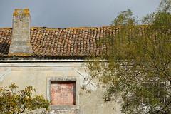 Abandonnée (hans pohl) Tags: portugal setubal azeitao architecture maisons houses bâtiments buildings abandonné abandoned fenêtres windows toits