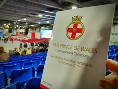 HMS Prince of Wales (stephenevans99) Tags: royal navy hms prince wales aircraft carrier commissioning ceremony