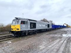 66055 at Westbury 6Z91 (Karel1999 Over Two Million views ,many thanks) Tags: westbury railway railroad trains locomotives zug vlak