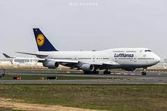 Boeing 747-430 D-ABVR Lufthansa (msd_aviation) Tags: boeing boeing747 b747 jumbo queenoftheskies queenofskies eddf fra frankfurt flughafen takeoff