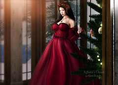 Look-131 (Aghata Darkwatch (Blogger)) Tags: justbecause accessories makeup truth leluck supernatural gown fameshed