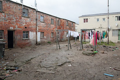 Hanging To Dry (peterkelly) Tags: digital canon 6d africa southafrica capetown courtyard laundry clothes hanging drying brick wall house home