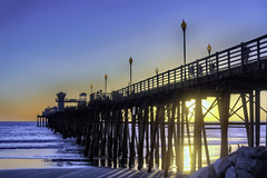 O'Side Pier Sunset 01-10-28-19 (rod1691) Tags: california united states nature beauty usa tropical paradise sunrise palm trees outdoor landscape seascape walkabout sunset photography travel beach sand sun pier strand canon40506070d5dii walknshoot