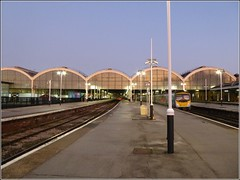 Taken at Dusk .. (** Janets Photos **) Tags: uk hull eastyorkshire railwaystations buildings architecture