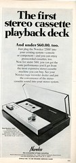 Norelco stereo cassette playback deck 1968 (Nesster) Tags: vintage stereo hifi magazine print ad advert advertisement september 1968 hifistereoreview
