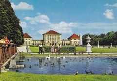 Postkarte / Deutschland (micky the pixel) Tags: deutschland postcard ephemera postkarte germany munich münchen bayern bavaria schlossnymphenburg
