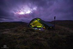 Another day closes in... (CamraMan.) Tags: hillebergakto longexposure tent clouds wildcamping lakedistrict sonya6000 samyang12mm fotodiox ©davidliddle ©camraman