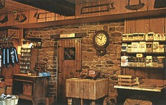 Amana Meat Shop - Amana, Iowa (The Cardboard America Archives) Tags: amana iowa butcher meat store vintage capa postcard