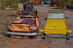 Two King Midgets (oybay©) Tags: kingmidget king midget car automobile barrettjackson scottsdale ernieadams dwarfcarmuseum maricopa arizona az