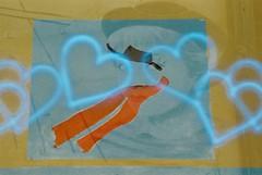 Federico + Giulietta (Luft) (goodfella2459) Tags: nikonf4 konoluft200 35mm c41 film analog colour doubleexposure multipleexposure rimini italy borgosangiuliano cinema history federicofellini giuliettamasina lastrada experimental manilovefilm