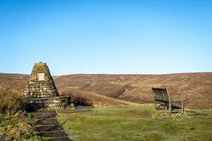 SJ2_0271 - Above Muker (SWJuk) Tags: swjuk uk unitedkingdom gb britain england yorkshire northyorkshire yorkshiredales dales swaledale muker thwaite bench cairn hillside hills moorland moors cliffgateroad buttertubspass landscape countryside 2019 nov2019 autumnwinter holidays nikon d7200 nikond7200 nikkor1755mmf28 rawnef lightroomclassiccc
