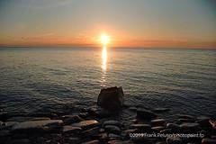 LAkeshore Sunrise and Rocks by   Frank Peluso (photofranco2007) Tags: etobicokeparks park lakeshoresunrise canada scenic sonya7rminolta2885beercanlens
