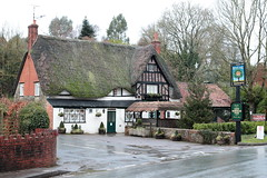 The Royal Oak Easterton Wiltshire UK (davidseall) Tags: the royal oak easterton wiltshire uk pub pubs inn tavern bar public house houses gb british english thatch thatched wadworth