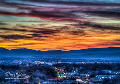 Last 55 Years Old Sunset Roanoke Valley (Terry Aldhizer) Tags: last 55 sunset years old birthday eve sky clouds mountains twilight roanoke city valley blue ridge virginia 460 december winter terry aldhizer wwwterryaldhizercom