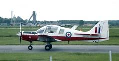 XX690 (1975 Scottish Aviation Bulldog T.1 at Finningley (kitmasterbloke) Tags: royalairforce raffinningley doncaster yorkshire aircraft