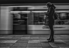 SubwayMissed (Peter M. Meijer) Tags: ricohgriii rotterdam wideangle closeup candid street strada strasse straat holland people callejera metro underground ret