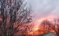 The sunrise this morning. (wpnschick) Tags: nature sky clouds sunrise beautiful naturephotography