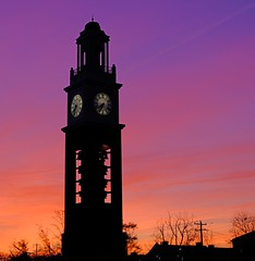 Good morning (Jay Murdock) Tags: miamiuniversity pulleytower sunrise sky