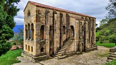 Santa Maria de Naranco (vmribeiro.net) Tags: famous place international landmark church santa maria del naranco oviedo asturias spain europe southern spanish culture architecture old sky outdoors religion monastery horizontal color image no people built structure gothic style arch architectural feature stone material national local medieval building exterior day romanesque art insta